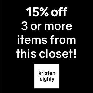 15% Off 3 Or More Items